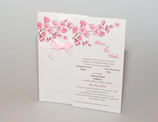 Invitatii Nunta Cod N602
