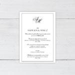Invitatii nunta n801