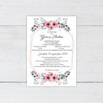 Invitatii nunta n802