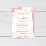 Invitatii nunta n810