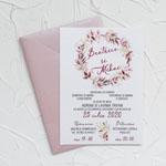 Invitatii nunta n946